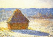 Claude Monet - Haystack In Winter 1891