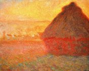 Claude Monet - Haystack at Sunset 1891