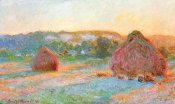 Claude Monet - Haystacks End Of Summer Evening 1891