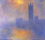 Claude Monet - Houses Of Parliment Through The Fog