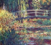 Claude Monet - Le Bassin Aux Nympheas Harmonie Rose