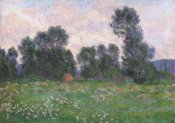 Claude Monet - Meadow At Giverny 1890