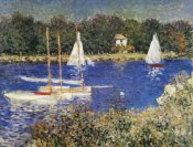 Claude Monet - The Bassin At Argenteuil
