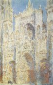 Claude Monet - Rouen Cathedral West Facade Sunlight 1894