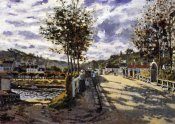 Claude Monet - The Bridge At Bougival 1870