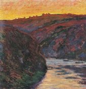 Claude Monet - The Creuse Sunset 1889