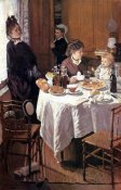 Claude Monet - Luncheon (Le dejeuner), 1868
