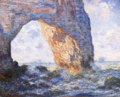 Claude Monet - The Manneporte At Etretat 1883