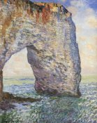 Claude Monet - The Manneporte Near Etretat 1886