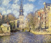 Claude Monet - The Zuiderkerk At Amsterdam