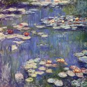 Claude Monet - Water Lilies 1914