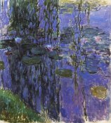 Claude Monet - Willow Fronds And Nympheas