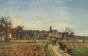 Camille Pissarro - View Of Pontoise 1873