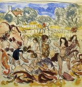 Maurice Brazil Prendergast - Figures On The Shore