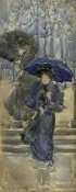 Maurice Brazil Prendergast - Ladies In The Rain