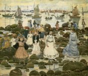 Maurice Brazil Prendergast - Low Tide Beachmont