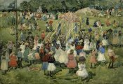 Maurice Brazil Prendergast - May Day Central Park