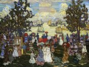 Maurice Brazil Prendergast - Salem Willows