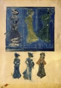 Maurice Brazil Prendergast - Six Sketches Of Ladies