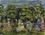 Maurice Brazil Prendergast - Summer In The Park