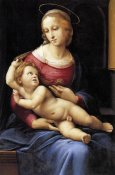 Raphael - Madonna And Child 4