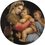 Raphael - Madonna And Child With St John 6