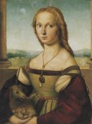 Raphael - Portrait Of A Young Woman