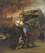 Raphael - St Michael And The Devil