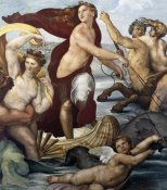 Raphael - Triumph Of Galatea Detail