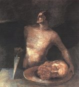 Odilon Redon - Angel Executioner