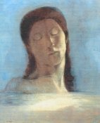 Odilon Redon - Closed Eyes - Female
