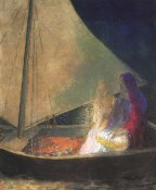 Odilon Redon - The Boat 3