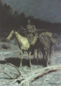 Frederic Remington - A Dangerous Country