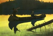 Frederic Remington - Calling The Moose