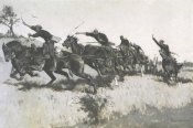 Frederic Remington - Capt Grimess Battery Going Up El Paso Hi Il