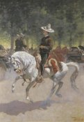Frederic Remington - Gentleman Rider On The Paseo De La Reforma