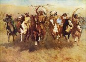Frederic Remington - Return Of A Blackfoot War Party