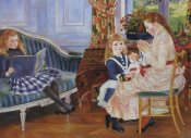 Pierre-Auguste Renoir - Childrens Afternoon At Wargemont