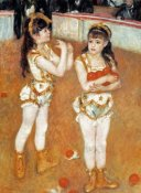 Pierre-Auguste Renoir - Jugglers At The Cirque Fernando