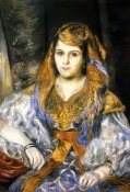 Pierre-Auguste Renoir - Madame Clementine Stora In Algerian Dress