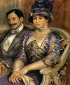 Pierre-Auguste Renoir - Monsieur And Madame Bernheim Devillers