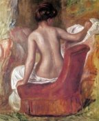 Pierre-Auguste Renoir - Nude In Chair