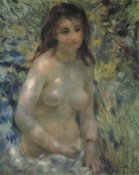 Pierre-Auguste Renoir - Nude In The Sunlight