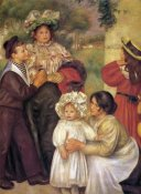 Pierre-Auguste Renoir - The Artists Family