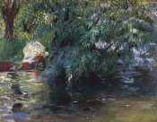 John Singer Sargent - A Backwater Calcot Mill 1888