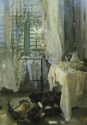 John Singer Sargent - A Hotel Room, after 1900