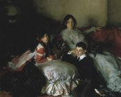 John Singer Sargent - Essie, Ruby, and Ferdinand, Children of Asher Wertheimer