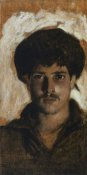 John Singer Sargent - Head of a Young Man, 1878