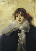 John Singer Sargent - Head of a Young Woman 1880-82