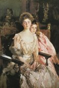 John Singer Sargent - Mrs Fiske Warren and Daughter Rachel